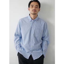 レギュラーフィットオックスシャツ (Blue)
