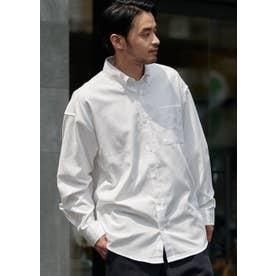 ルーズシルエットオックスシャツ (White)