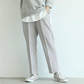 きれいめテーパードパンツ (Gray)