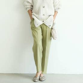 きれいめテーパードパンツ (Dk.green)
