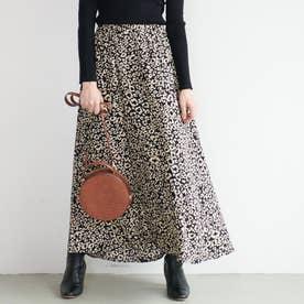 レオパード柄マーメイドスカート (Leopard)