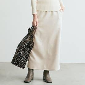 フェイクスウェードタイトスカート (Ivory)