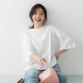 USAコットンテールカットTシャツ (White)