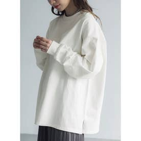 ユニセックスロングTシャツ (White)
