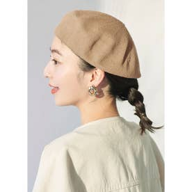 コットンベレー帽 (Beige)