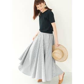 ストライプAラインスカート (Stripe)