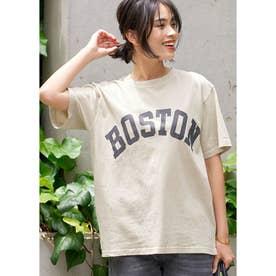 ピグメントアソートプリントTシャツ (Ivory)