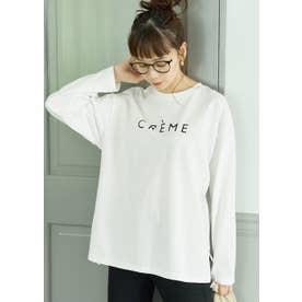 クルーネックアソートプリントロングTシャツ (D)
