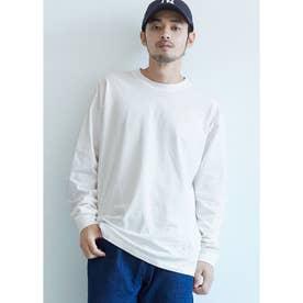 シルキーコットンロングTシャツ (White)