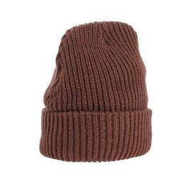 ACRYL AZEニット帽(ブラウン)