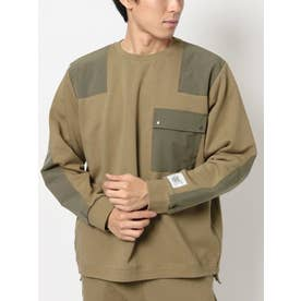 MILITARY PACH SWEAT(ベージュ)