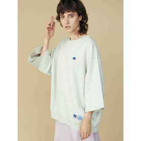 Bookstore Sweat 3/4 Sleeve Shirt(オフホワイト)