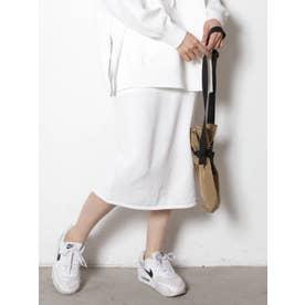 サイドラインタイトスカート(オフホワイト)