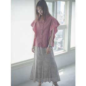 アニマル柄マーメイドスカート(アイボリー)