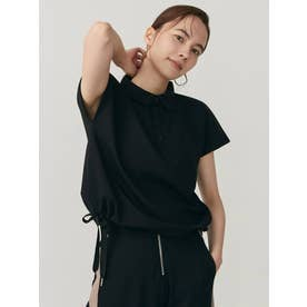 【THE DAYZ TOKYO】フレンチポロシャツ(ブラック)