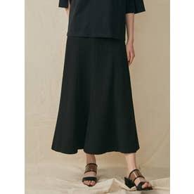 ダンボールジョーゼットマーメイドスカート(ブラック)