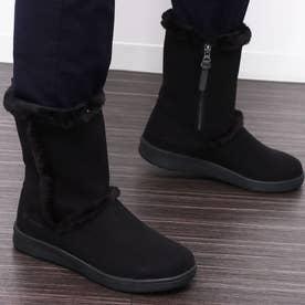columbia/ムートン ブーツ 防水 雨雪対応 YL1016 (ブラック×ブラック)