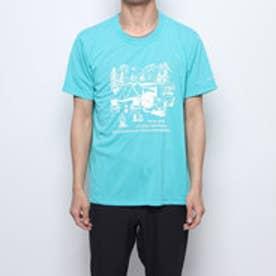 COLUMBIA メンズ アウトドア 半袖Tシャツ ヤハラフォレストショートスリーブクルー PM1525