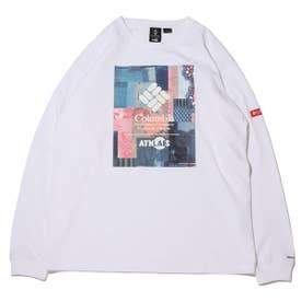 x ATMOS LAB Powder Keg(TM) Long Sleeve Tee (WHITE)