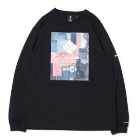 x ATMOS LAB Powder Keg(TM) Long Sleeve Tee (BLACK)