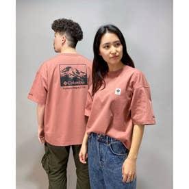 columbia/ ビッグシルエット  バックプリントTシャツ   PM0270 (ピンク)