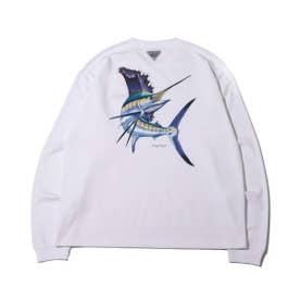 PFG Carey Chen L/S T Shirt (WHITE)
