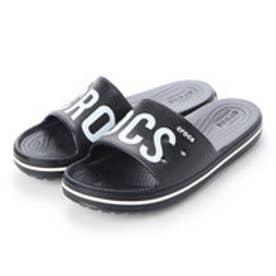 メンズ クロッグサンダル Crocband III Printed Slide Black/White 206003-066