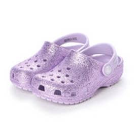 クロッグサンダル Classic Glitter Clog K Lavender 205441-530