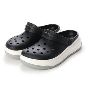 クロッグサンダル Crocband Full Force Clog Blk/Whi 206122-066