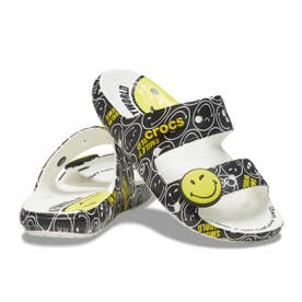 Classic Crocs Smiley Sandal (WHITE)