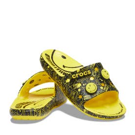 Classic Crocs Smiley Slide (YELLOW)