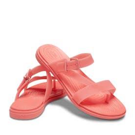 Crocs Tulum Translucent Toe Post W (PINK)