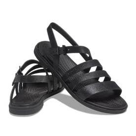 Crocs Tulum Glitter Sandal W (BLACK)