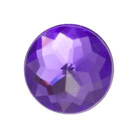 Sparkly Purple Circle (MULTI)
