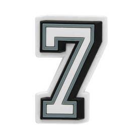 Jibbitz B&W Number 7 (MULTI)