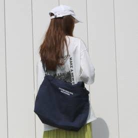 刺繍ロゴ2wayトートバッグ (コン)