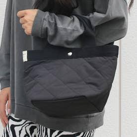 被せポケット付きミニトートバッグ (Pクロ)