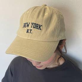 N.Y.ロゴキャップ (ベージュ)
