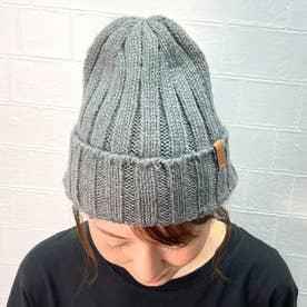 リブニット帽 (モクグレ-)