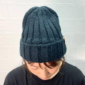 リブニット帽 (コン)