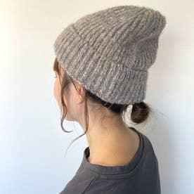 ミックスニット帽 (ベージュ)