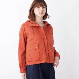 【中綿ライナー付】3WAYマウンテンパーカー (ダークオレンジ)