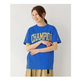 Champion ビッグロゴTシャツ (ブルー(092))