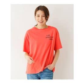 Champion ロゴTシャツ (オレンジ(067))