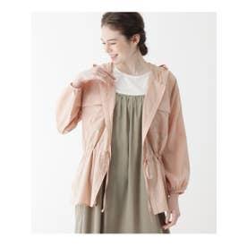 【M-L】CPOフードシャツ (ピンク(072))