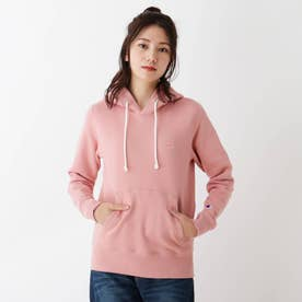 【M-L/Champion】裏起毛プルオーバーパーカー (ピンク)