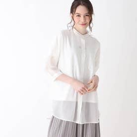 【S-L/2点セット】シアーシャツセット (ホワイト)
