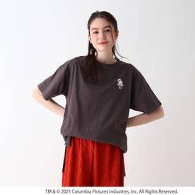 【S-L】ゴーストバスターズBIG Tシャツ (チャコールグレー)