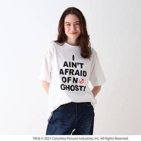 【S-L】ゴーストバスターズリリックTシャツ (ホワイト)