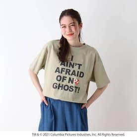 【S-L】ゴーストバスターズリリックTシャツ (ライトグリーン)
